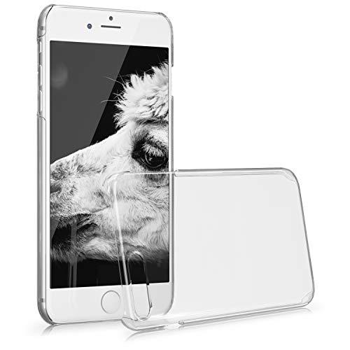 kwmobile Cover Compatibile con Apple iPhone 7 Plus / 8 Plus - Custodia Rigida Trasparente per Cellulare - Back Cover Cristallo in plastica - Trasparente