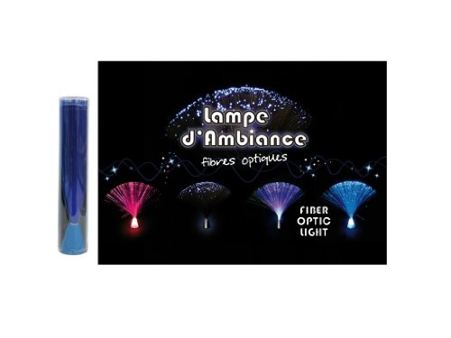 Lampe ambiance fibre optique 20cm
