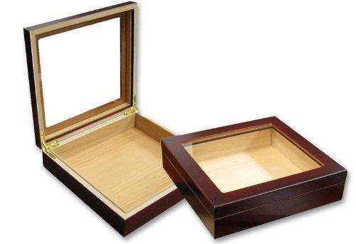perfectSmoke - Humidor de Puros para Principiantes (Tapa de Cristal para 20...
