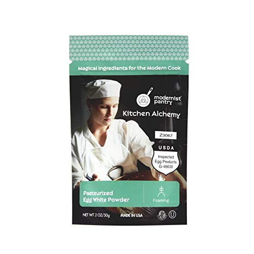 AAA Grade Egg White [Albumen] Powder ❤ Gluten-Free ✡ OU Kosher Certified (Pasteurized, Made in USA, 1 Ingredient no additives, Produced from the Freshest of Eggs) - 50g/2oz