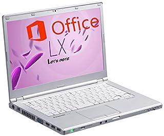 【豪華特典進呈】【Microsoft Office 2019&Win 10搭載】軽量型Panasonic Let's note CF-LX6 ★第7世代Core i5-7300U@2.6GHz/8GBメモリ/SSD 1TB/14インチFHD/W...