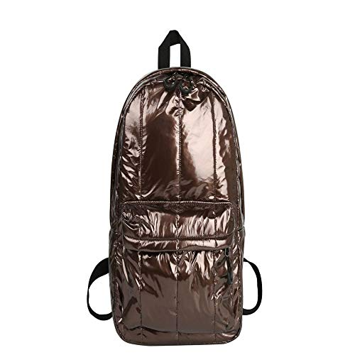 Chequered Bag for Women's Fashion Simple Solid Color Backpack Multi Functional Waterproof Large Capacity Backpack