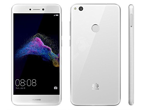 Huawei 351433 P9-Lite Smartphone (2017) (13,2 cm (5,2 Zoll) Display, 16 GB, Dual SIM, Android 7.0 Nougat) weiß