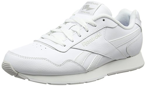 Reebok Herren Royal Glide Turnschuhe, Weiß (White / Steel / Reebok Royal), 43 EU