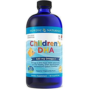 Nordic Naturals Children's DHA Oil, Strawberry, 473 ml