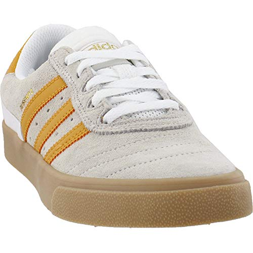 adidas Mens Busenitz Vulcanized Skate Sneakers Shoes Casual - White - Size 6 D