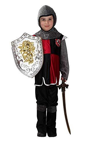 Costume Guerriero Medievale - Bambini - Cosplay - Carnevale - Halloween - Taglia XL 130 140 cm - idea regalo originale natale compleanno