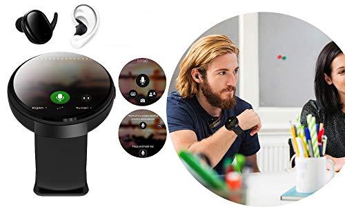 Smart Watch Traduttore Mondiale con auricolari: Traduttore Vocale, Frasario, Scanner, GPS, Telefono da Viaggio, Guida