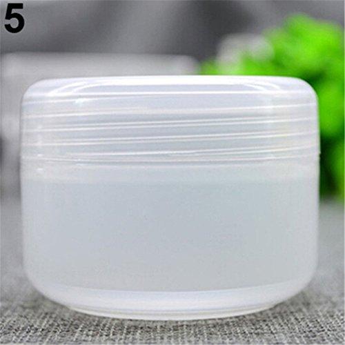 Steellwingsf 5 pcs/lot vide Maquillage Pot Pot de voyage Crème pour le visage/lotion/cosmétique conteneurs transparent transparent 50