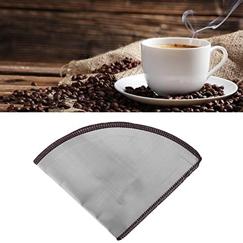 Veloraa Kaffeekegelsieb, Kaffeefilter Flexibel Einfach zu lagern zum Filtern von Tee Kaffeemehl für Kaffeemaschine Coffee