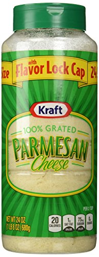 Kraft Grated Parmesan Cheese-24 oz