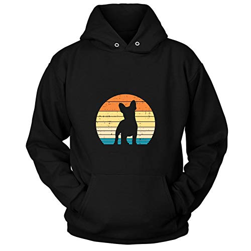 French Bull-Dog Sunset Retro Fren-Chie Dog Lover Owner Gift Pullover Hoodie, French Bull-Dog Sunset Retro Fren-Chie Dog Lover Owner Gift Pullover T Shirt, Sweatshirt, Long Sleeve, Tank top