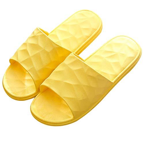 HOMHH - Pantofole da doccia antiscivolo per massaggi, super morbide, ad asciugatura rapida, per donne e uomini, per interni ed esterni