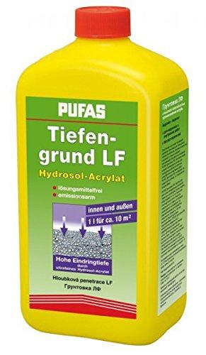 Pufas Tiefengrund LF Acryl-Hydrosol (Haftgrund für Farben) 1 Liter
