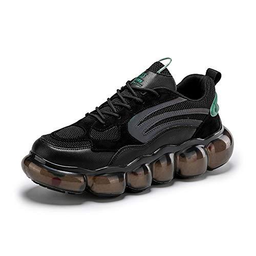 Scarpe sportlich alla Moda da Uomo Scarpe sportlich leggere e comode da joggen Con cuscino d'aria sul palmo,43EU