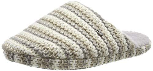 ESPRIT Damen Doni Knit Mule Pantoffeln, Grau (Pastel Grey 050), 39 EU