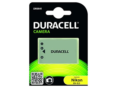 Duracell DR9641 - Batería para cámara digital 3.7 V, 1150 mAh (reemplaza batería...