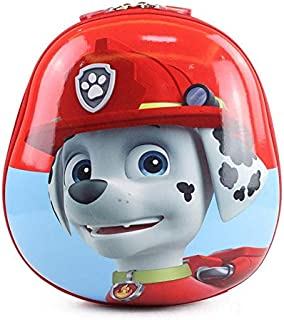 Children school backpack waterproof cartoon PAW Patrol Marshall red