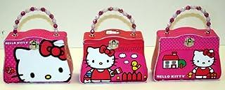 1 - HELLO KITTY TIN PURSE Carry-All W/Beaded Handle