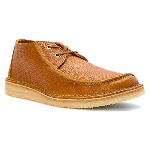Clarks Originals Men's Tan Leather Seam Trek 8 D(M) US