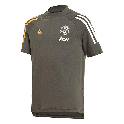 adidas Manchester United Temporada 2020/21 MUFC tee Y Camiseta, Niño, tieley, 152