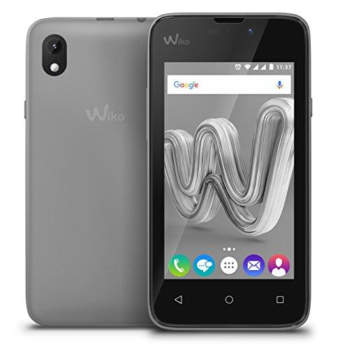 """Wiko SUNNY MAX 10,2 cm (4"""") 0,512 GB 8 GB Doppia SIM Nero, Argento 2500 mAh"""