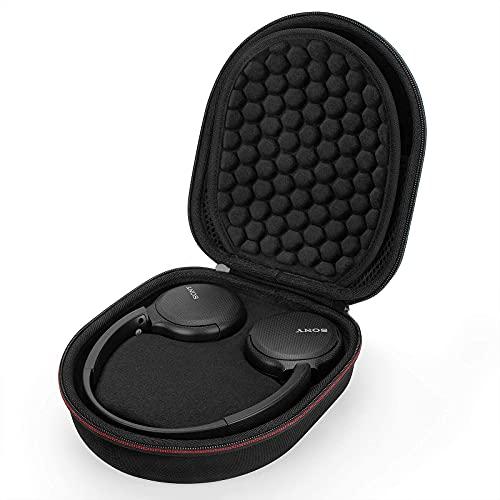 Estuche Funda para WH-CH510 Auriculares Inalámbricos Bluetooth de Diadema,Caja Cubrir Protectora de para Bolsa Bolso de Transporte de Viaje EVA Caso(Black)