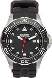 Cressi Manta Reloj Submarino, Unisex Adulto, Plata/Negro/Negro, Uni