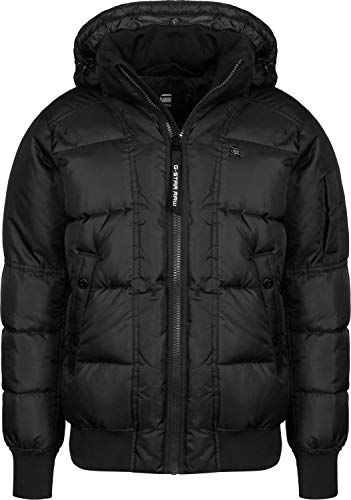G-STAR RAW Whistler Quilted HDD Bomber, Chaqueta Hombre, Gris (Asfalt 995), XX-Large