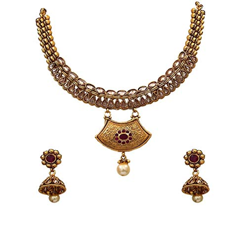 JewelryGift Público profesional. Personas consumidores chapado en oro-cobre Cristal, rubí.