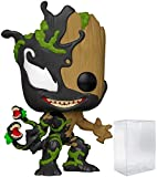 Venomized Groot #601 Marvel: Spider-Man Maximum Venom Vinyl Figure (Bundled with Ecotek Plastic Protector to Protect Display Box)