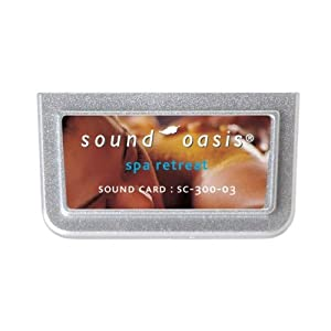 SC-300-03 Sound Oasis Spa Retreat Sound Card from Sound Oasis