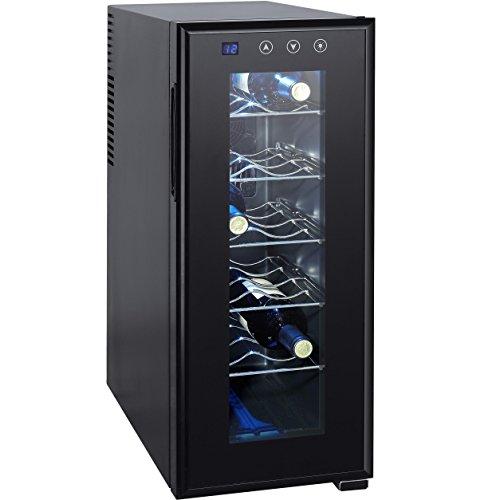 Syntrox Germany 12 Flaschen Digitaler Getränkekühlschrank...