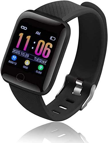 Bluetooth Smart Watch Reloj Inteligente Mujer Hombre Smartwatch Pulsómetro,Cronómetros,Calorías,Monitor de Sueño,Podómetro Pulsera Actividad Inteligente Impermeable Responder Llamadas Android e iOS
