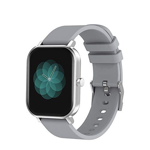 ADH S10 Full Touch SmartWatch, Blocco Fitness da Uomo e da Donna IP68 Impermeabile Bluetooth Frequenza cardiaca Sleep Monitor modalità Sportiva SmartWatch,D