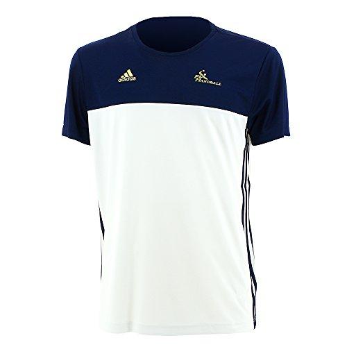 Adidas Sport Frankreich Handball Nationalmannschaft T Shirt Herren blau weiß Größe XXL