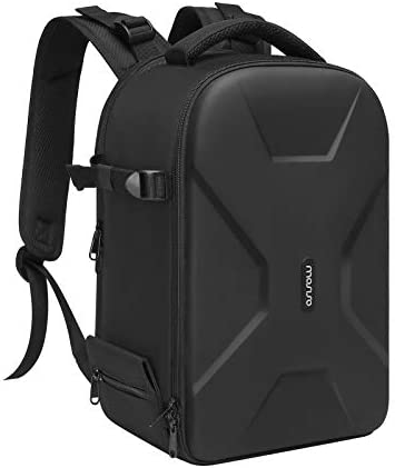 MOSISO Camera Backpack DSLR SLR Mirrorless Insert Protection Photography Camera Bag Full Open product image