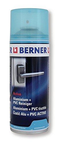 Berner 13792 - Limpiador de aluminio y PVC (400 ml, en aerosol, para ventanas, metal,...