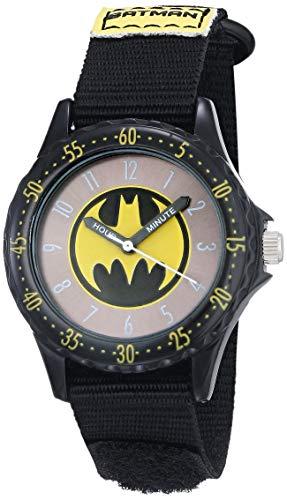 Product Image of the Batman Boys' BAT5038 Black 'Time Teacher' Batman Watch