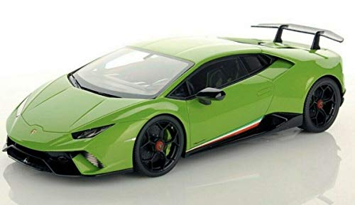 Maisto kompatibel mit Lamborghini Huracan Performante 2017 grün metallic Modellauto 1:18