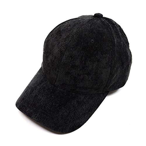 KGM Accessories Corduroy snap back casquette Noir