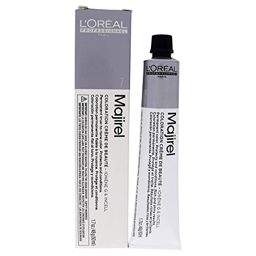 L'Oreal Professionnel Majirel Permanent Creme Color Ionene G Incell 7 (7N) by L'Oreal Paris