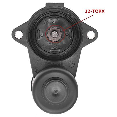 12-TORX Rear Caliper Parking Brake Servo Motor 3C0998281 3C0998281A Replacement for Au -di Q3 VW Passat B6 B7 CC Tiguan 3C0998281B 32330208
