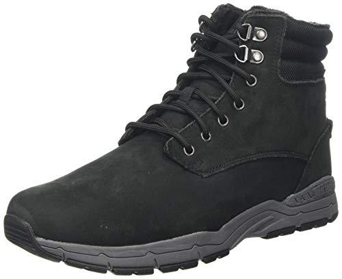 Regatta Herren Grafton Thermo' Leather Casual Combat Boots, Schwarz (Black/Granite 9v8), 44 EU