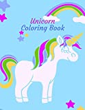 Unicorn coloring book: 50 Different ilustrations of unicorns for all ages,Kids boy or girl,teens,adult for paint and have lots of fun doing this activity.Grab one and enjoy it.