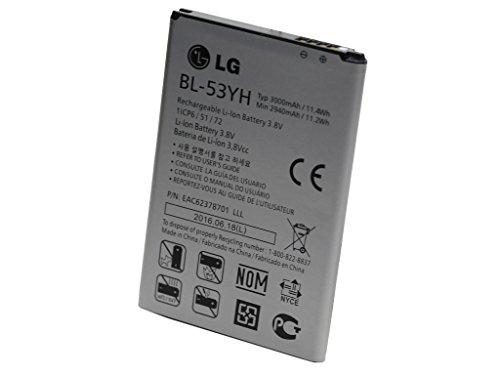 Batteria originale per LG ELECTRONIC G3 con ioni di litio, 3,8 V, 3.000 mAh