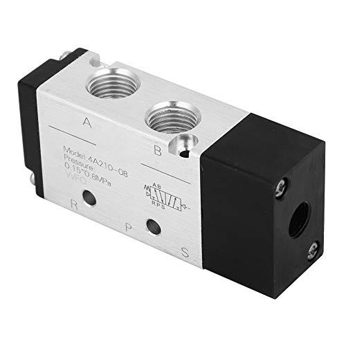 Válvula Boaby de alta calidad 4A210-08 2 posiciones 5 vías entrada/salida de válvula neumática de aire PT1/4in