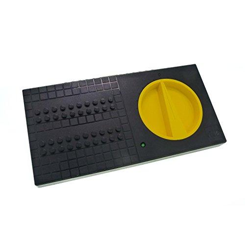 1 x Lego Technic Elektro Trafo 9 V - 12 V schwarz gelb Eisenbahn Transformator train Technik für Set 4548