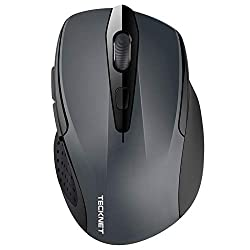 professional TeckNet 2600DPI Bluetooth wireless mouse, 12 months battery life with battery indicator, …