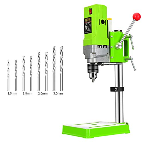 XIONGGG 710W Mini Bench Drill Stand, 220V Electric Bench Drilling Machine Drill Chuck 1.5-13Mm, for Drilling Collet, Drill Press Table